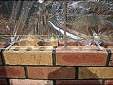 耐久性のあるレンガ積の家