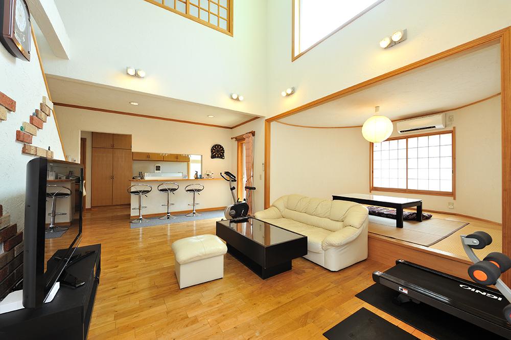 仁・幸夢店の施工事例、高気密高断熱の家
