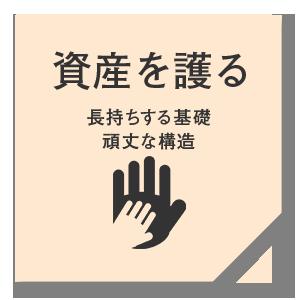 仁・幸夢店の資産を護る家